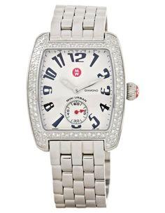 Michele Women's MWW02A000124 Mini Urban Diamond Steel Bracelet Watch  $1,299.00