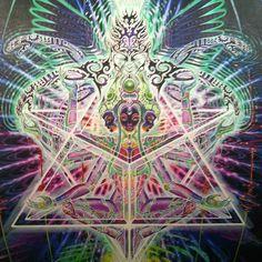 Tetragramatron... Oil on canvas 2011
