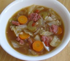 Happier Than A Pig In Mud: Corned Beef and Cabbage Soup                         youtube downloader                         music downloads