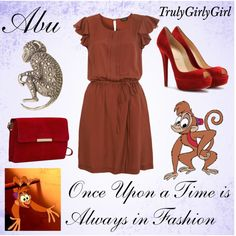 """Disney Style: Abu"" by trulygirlygirl on Polyvore"