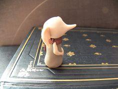 Harry Potter Tiny Dobby Polymer Clay Sculpture by PapercraneFlint, $7.00