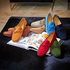 3f1e4fb47c639  suede  moccasins  happy  sunday  shoesformen  fff  menstyle Leather  Slippers