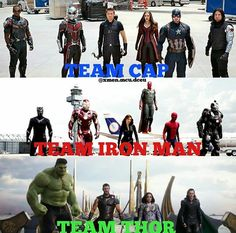 //Waves bye to Team Cap// gOIN OVER TO TEAM THOR<<<I like thor but I wouldn't go as far to say bye to team cap.