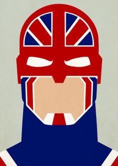 C is for Captain Britain