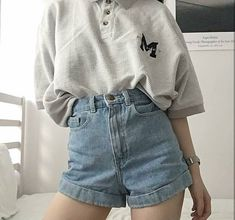 Get rid of stubborn belly fat now! belly fat Photo July 08 2019 at hold onto hope if you've got it Kpop Fashion Outfits, Ulzzang Fashion, Indie Fashion, Korean Outfits, Aesthetic Fashion, Aesthetic Clothes, Korean Fashion, Dress Fashion, Cute Casual Outfits