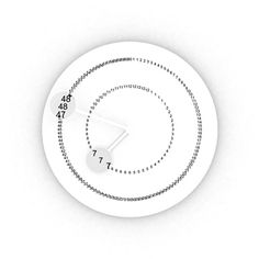 Dislocation Clock Is A Innovative Clock Designed By London Based Taiwanese  Designer Hanhsi Chen. | [ DESIGN + CHINESE ] | Pinterest | Clock, As And  UX/UI ...