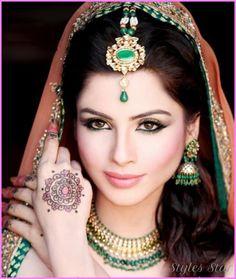 NATURAL MAKEUP INDIAN - http://stylesstar.com/natural-makeup-indian.html
