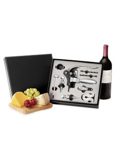 Sommelier Wine Set (10 PC) - Gilt Home. Not a bad price at all! $39 yes please