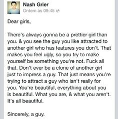 Nash Grier. Just like his other picture like this... He's perfect. And understands exactly how I feel