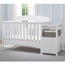A convertible crib that grows with Baby, a convenient changing table, even a…