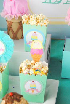 ICE CREAM Party - Ice Cream Printables - Ice Cream - Sweet Shop - Ice Cream Shoppe - Ice Cream Birthday - First Birthday - Ice Cream NAPKIN Wrappers