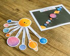 Planets Activities, Montessori Activities, Science Activities, Preschool Curriculum, Preschool Science, Homeschooling, Kindergarten, Solar System Model, Our Solar System