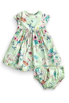 Buy Mint Floral Dress (3mths-6yrs) from the Next UK online shop