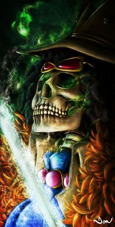 Brook,Straw Hat Pirates - One Piece,Anime