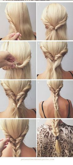 25 easy summer hairstyles 15 simple yet stunning hairstyle tutorials for lazy women lazy girl hairstyles easy hairstyles to do … No Heat Hairstyles, Step By Step Hairstyles, Summer Hairstyles, Pretty Hairstyles, Girl Hairstyles, Braided Hairstyles, School Hairstyles, Teenage Hairstyles, Wedding Hairstyles