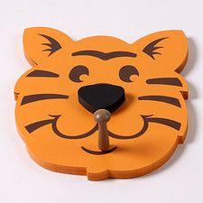 Tiger Head Peg (Set of 2)