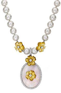 Mediterraneo Gioielli pendant necklace from the Pioggia Collection