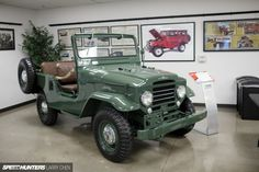 The Land Cruiser was one of the first Toyotas ever sold in North America. A total of 249 vehicles were sold in Toyota Lc, Toyota Fj40, Toyota Trucks, Toyota Cars, Fj Cruiser, Toyota Land Cruiser, New Foto, Heritage Museum, Jeep 4x4