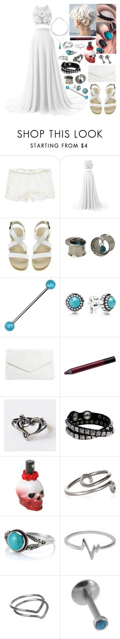 """""""scully - prom 2017"""" by kinathegreat ❤ liked on Polyvore featuring American Eagle Outfitters, Hot Topic, Pandora, Rut&Circle, Urban Decay, Diesel, Accessorize and Jewel Exclusive"""