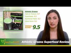 Athletic Greens Superfood Review - SuperFoodDrinks.org - YouTube