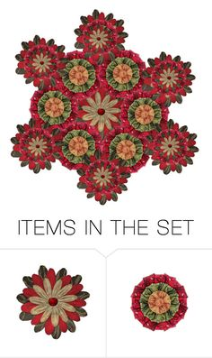 """""""Mandala"""" by sjlew ❤ liked on Polyvore featuring art"""
