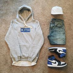 WEBSTA @ ldn2hk - Blue'd up. #outfitgrid @outfitgrid @dennistodisco // Hoodie…