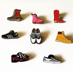 #Repost @thesilverspiderprintshop A lot of shoes and boots. All available in my shop (Posted by https://bbllowwnn.com/) Tap the photo for purchase info. Follow @bbllowwnn on Instagram for more great pins!