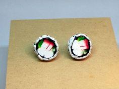 Sushi earrings by DeckedOutJewelry on Etsy