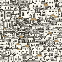 Discover the Fornasetti Mediterranea Wallpaper - 77/5016 at Amara