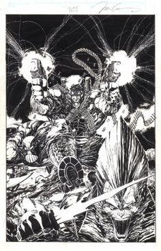 Deathblow Cover : Jim Lee, in Tom Hutson's Deathblow Comic Art Gallery Room Comic Book Artists, Comic Artist, Comic Books Art, Artist Art, Spawn, Jim Lee Art, D Mark, Comic Panels, Image Comics
