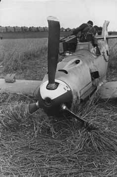 downed Me-109