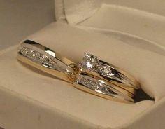 Set anillos de boda