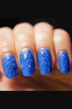 rain drops nails