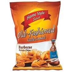 Crispy chips are made with select potatoes that are thinly sliced and kettle cooked to perfection. Plus, they offer the perfect combination of barbeque flavor and crunch. Great for parties, potlucks,