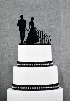 Chocolatey brooklyn bridge wedding cake yum by dianes desserts new mr mrs silhouette wedding cake toppers in home furniture diy wedding supplies cake toppers junglespirit Choice Image