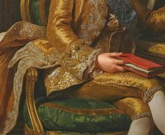 King Gustav III of Sweden and his Brothers, 1771 details ..by Alexander Roslin (1718 – 1793)