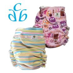 11/09/12 FYSF, Win (2) Kiwi Pie OS Fitted Cloth Diapers!