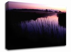 Pink River Calm landscape canvas from only £19.99 at Infusion Art http://www.infusionart.co.uk/products/Pink-River-Calm-259546.aspx