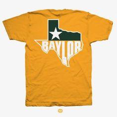 BU Baylor Texas Pocket Tee