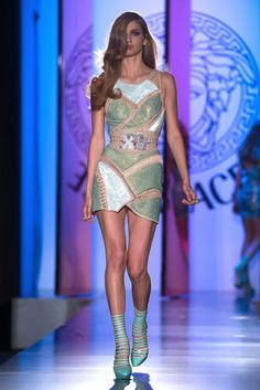 Versace Couture 2012  frankenstein dress
