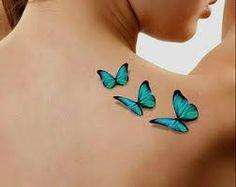 Résultats de recherche d'images pour « 3D butterfly tattoo »