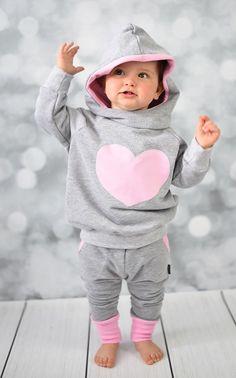Dres bluza oversize+ spodnie rozm. 74-92 - pestka-sklep - Bluzy z kapturem dla dzieci