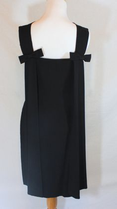 Vintage 50s Wiggle Dress Little Black Dress by LuLusVintageMart