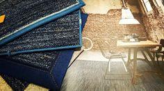 Sinds kort van Desso: Denim. Een mooie toevoeging aan een industrieel interieur! Als tapijt of karpet (keuze tussen 4 afwerkingen).