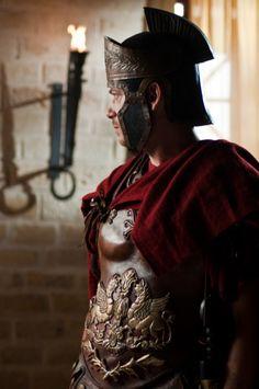 Pontius Pilate played by Filippo Nigro