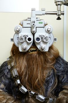 As Hans Solo's spacecraft co-pilot, Chewbacca understands the importance of regular eye tests to ensure his eyesight is at its best.