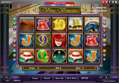 Viva Venezia - A slot game with five reels is used. There is also a bonus game that awards free spin and multiplies any winnings awarded during free spin play. #online #casino #slots #bonus #free #spins #138.com