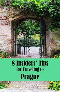 Pin this -8 Insiders Tips for Traveling to Prague