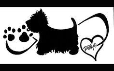 drawing#mywestie#westie#paw#dog#heart#