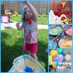 The Good Long Road: {Kid's Co-Op} 12 Sensory Play for Babies, Toddlers & Preschoolers